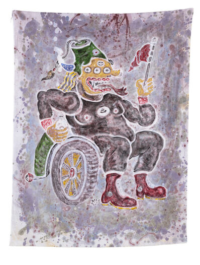 Heri Dono, 'The King Who Holds the Flag', 2015