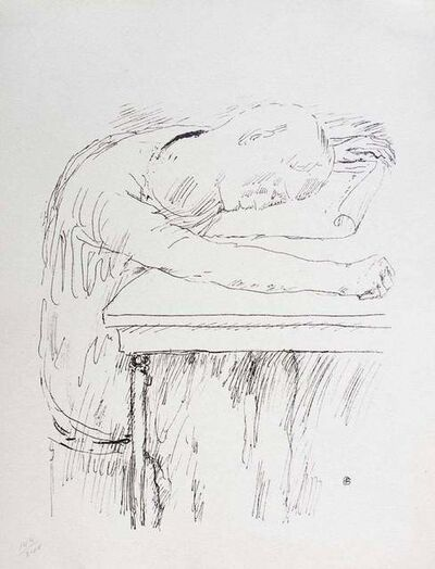 Pierre Bonnard, 'Tiredness', 1930