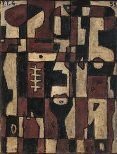 Emín Fernández, 'Pareja Constructiva', 1953