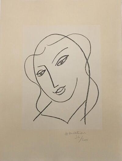 Henri Matisse, 'Etude pour la Vierge, Tete Voilee', 1950