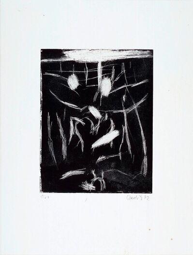 "Georg Baselitz, 'Rimbaud (from the portfolio ""The Frozen Leopard"" I)', 1992"