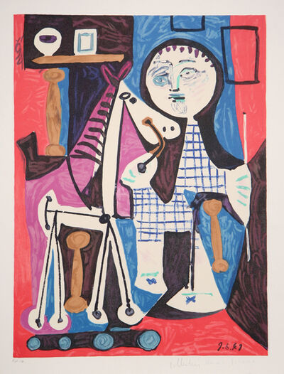 Pablo Picasso, 'Claude a Deux Ans', 1973-originally created in 1949