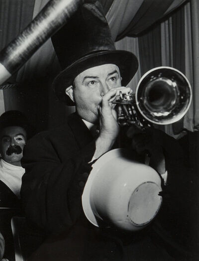 Weegee, 'Horn Player, Youth at Paramount Theater, and On the Balcony (3 works)'