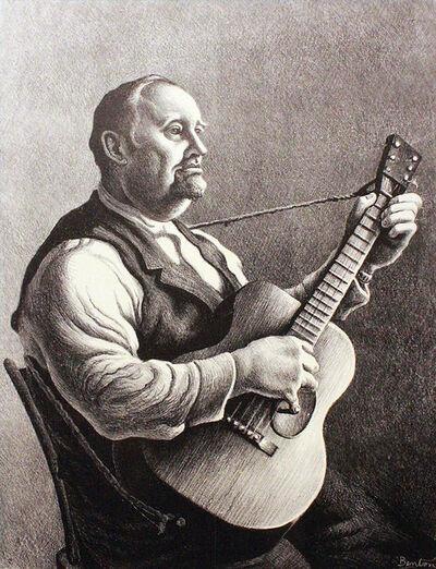 Thomas Hart Benton, 'Hymn Singer', 1950