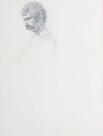 Claudio Bravo, 'Man with Mustache', 1974