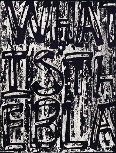 Adam Pendleton, 'What is the Black Dada', 2020