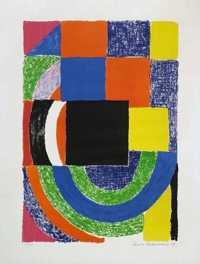 Sonia Delaunay, 'Carreau noir ', 1969