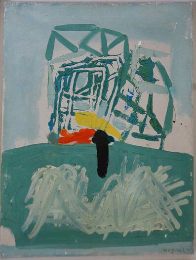 Lea Nikel, 'composition', 1971