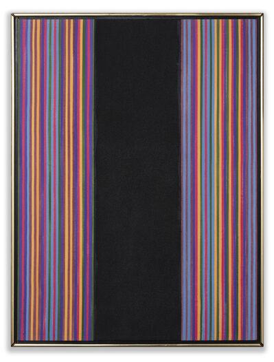 """Gene Davis, '""""Black Widow""""', 1980"""