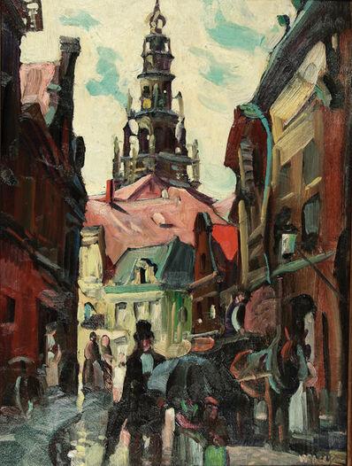 Frank Wilcox, 'Entering Paris, View of Hôtel de Ville, Paris, France', ca. 1926