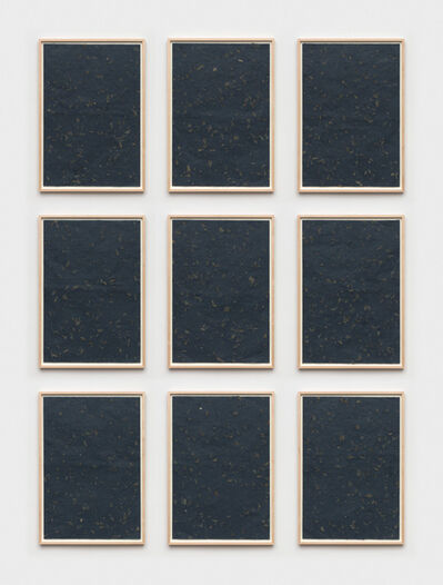 Sherrie Levine, 'Blue Nature Morte Collages: 1-9', 2014
