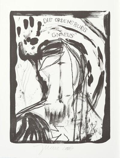 Jonathan Meese, 'Der Ordensgott', 2003