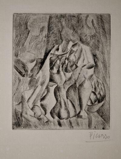 Pablo Picasso, 'Nature morte au compotier', 1908-1909