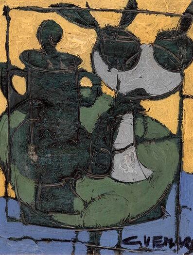 Claude Venard, 'Cafetiere avec des Fruits', ca. 1967