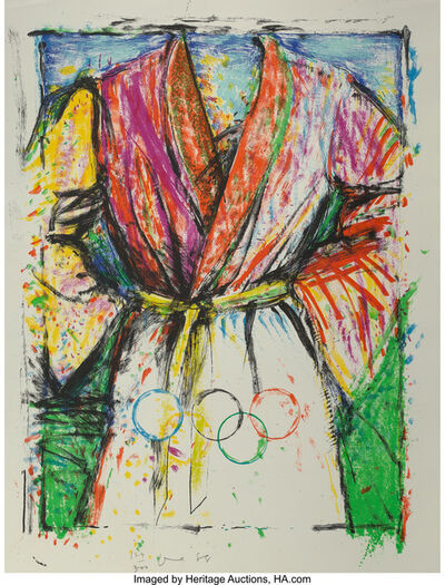 Jim Dine, 'Olympic Robe, from Official Arts Portfolio of the XXIVth Olympiad, Seoul, Korea', 1988