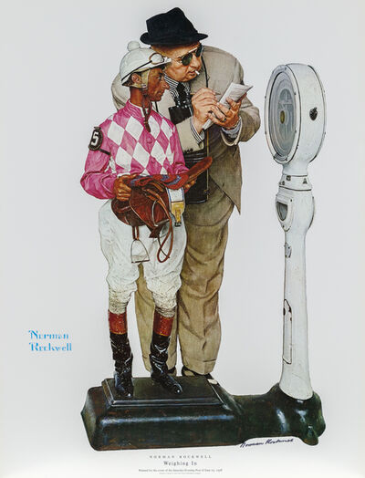 Norman Rockwell, 'Weighing In (The Jockey)', 1958