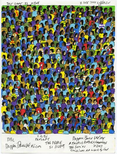 Dapper Bruce Lafitte, 'The People Is Silent', 2019