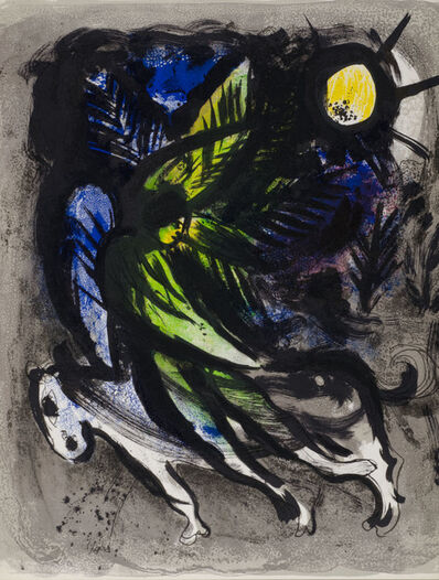 Marc Chagall, 'L'Ange (The Angel)', 1960