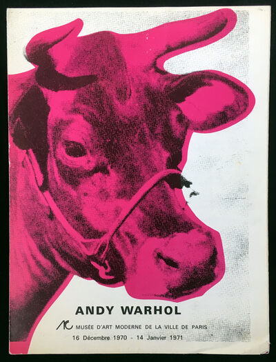Andy Warhol, 'Andy Warhol Musee d'Art Moderne Catalog', 1970