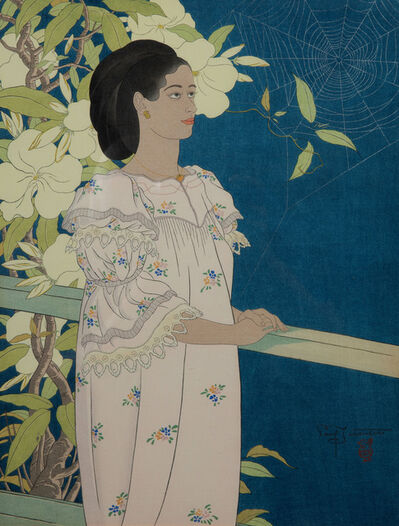 Paul Jacoulet, 'Evening Flowers. Toloas Truk', 1941