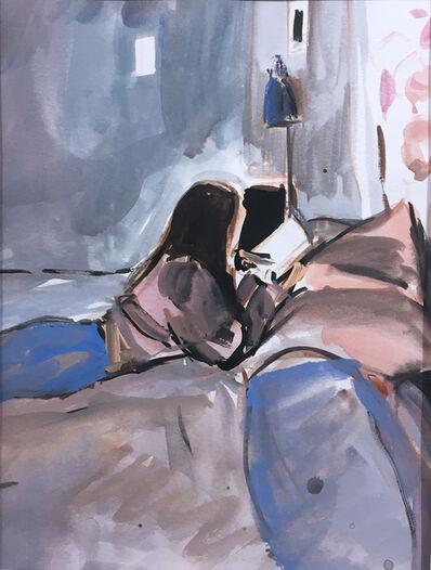 Ekaterina Popova, 'Reading in Bed', 2019