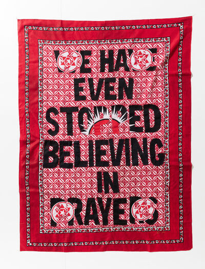 Lawrence Lemaoana, 'We even stopped Believing in Prayers', 2017