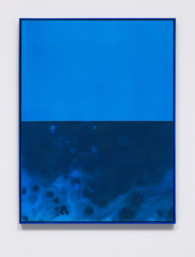 Sayre Gomez, 'Untitled Painting in Cerulean', 2014
