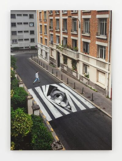 JR, 'Finding hope, day view, Paris, France', 2020