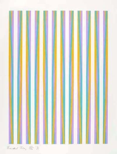 Bridget Riley, 'Untitled (Print for Chicago 8) ', 1971