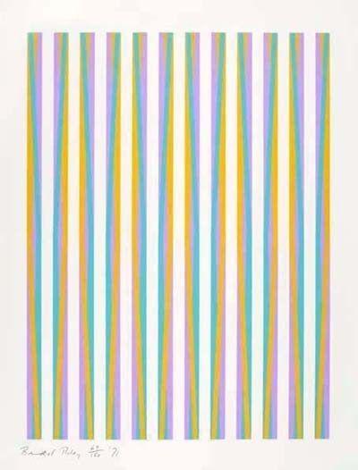 Bridget Riley, 'Untitled (Print for Chicago 8) ', 1971