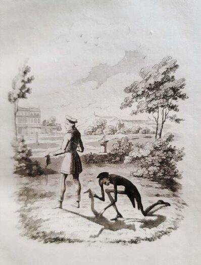 George Cruikshank, 'Peter Schlemihl's Wundersame Geschichte', 1827