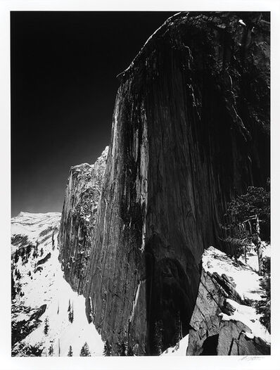 Ansel Adams, 'Monolith, The Face of Half Dome, Yosemite National Park, California', 1927