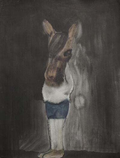Klara Kristalova, 'Hästflickan om natten / The Horse Girl at Night', 2016