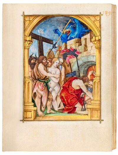 """Nikolaus Glockendon, 'Heinrich of St. Gallen: """"Passio Christi""""', 1521"""