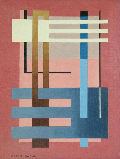 Carla Badiali, 'Composizione astratta', 1938