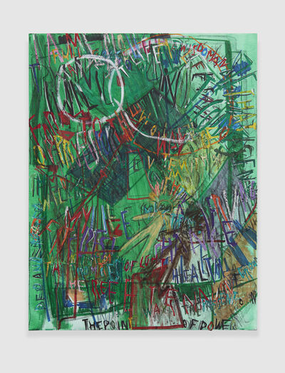 Despina Stokou, 'R.G.B. Affirmations (Green)', 2018