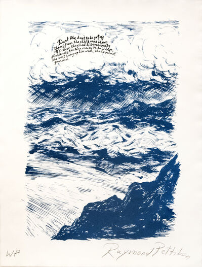 Raymond Pettibon, 'Untitled (First the Dust...)', 2018