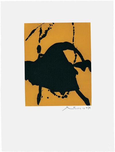Robert Motherwell, 'Gesture I (State I)', 1977