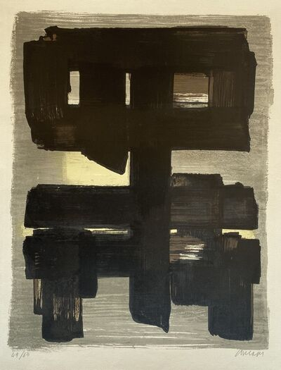 Pierre Soulages, 'Lithographie no.1', 1957