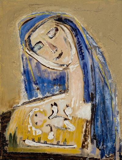 Karolinan Borchardt, 'Madonna', 1970