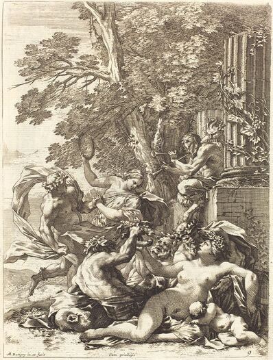 Michel Dorigny, 'Bacchante with Sleeping Child', 1650s