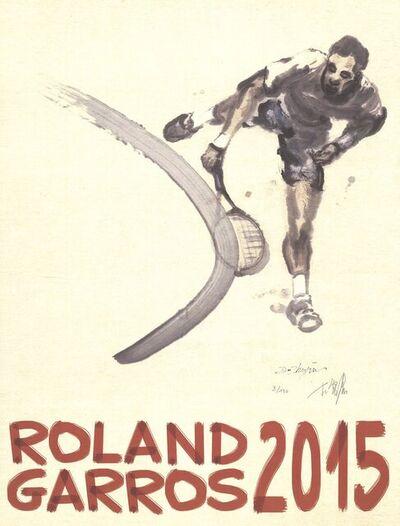 Du Zhenjun, 'Roland Garros French Open', 2015