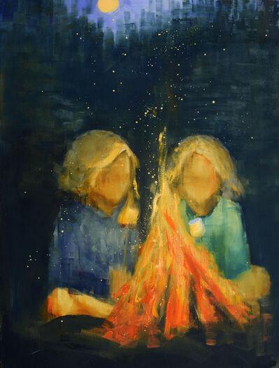 Rebecca Kinkead, 'Marshmallow Yellow Moon', 2018