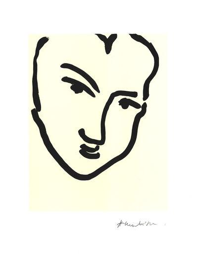 Henri Matisse, 'Nadia Au Visage Penche', 1995