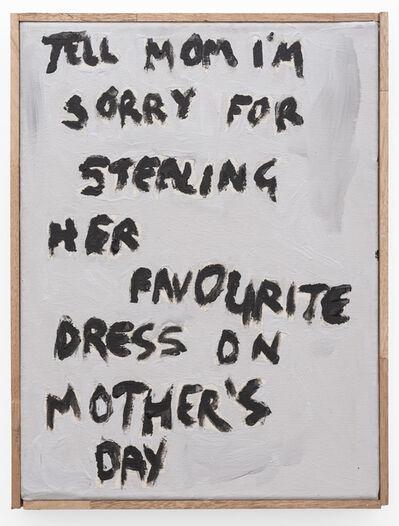 Brett Charles Seiler, 'Tell Mom I'm Sorry', 2019