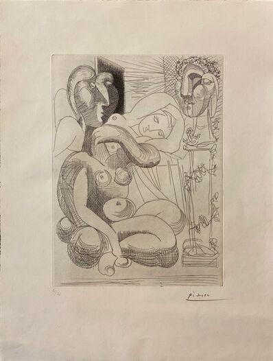 Pablo Picasso, 'Dormeuse et Sculptures (B.258; Ba 306).', 1933