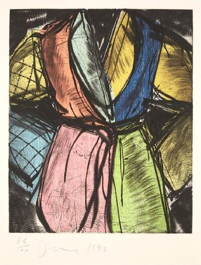 Jim Dine, 'Bill Clinton Robe', 1992