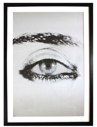 Shirin Neshat, 'Offered Eyes poster', 2015
