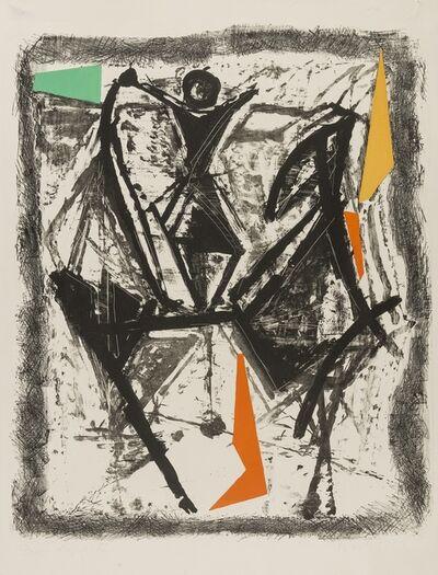 Marino Marini, 'Le Cavalier (Gustalla L.76)', 1960