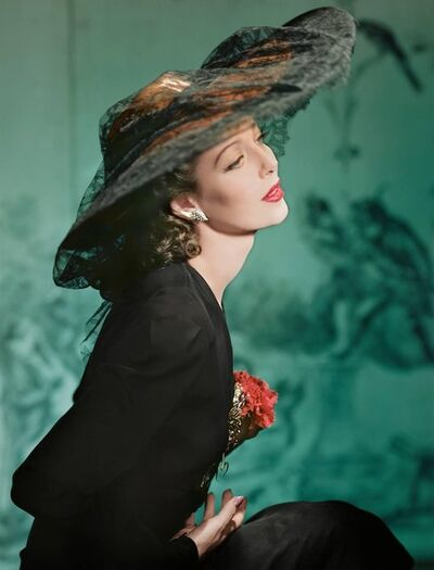 Horst P. Horst, 'Loretta Young, New York', 1941